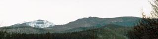 家から見たの硫黄岳